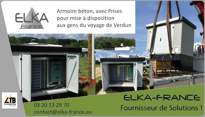 Elka-France Armoire Prises
