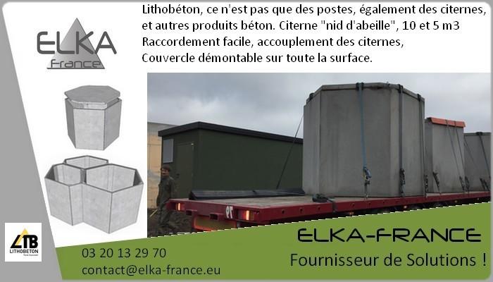 Elka-France Citerne Cuve béton 1
