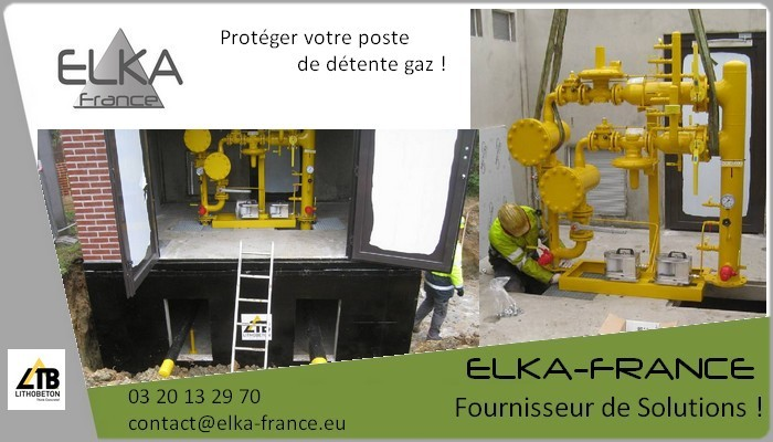 Elka-France Local technique Gaz 1