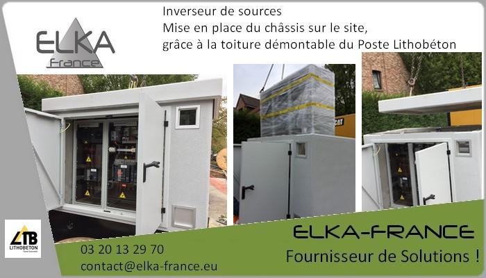 Elka-France Poste béton Inverseur de sources