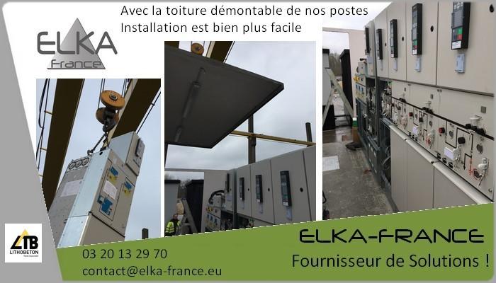 Elka-France Poste de Livraison Installation PdL 8DJH 4