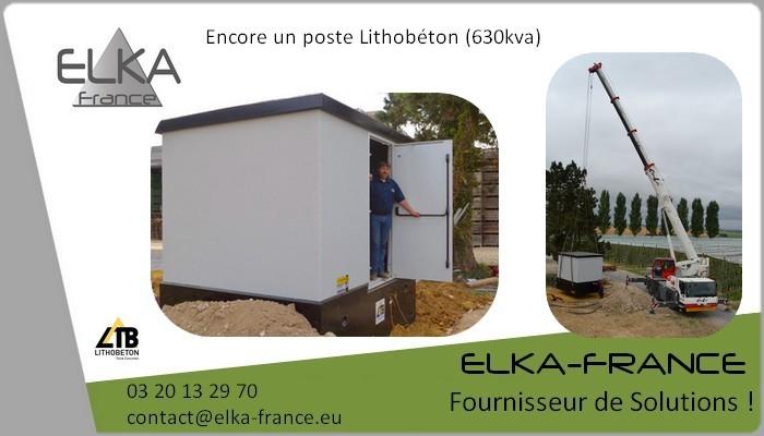 Elka-France Poste de livraison PdL 15