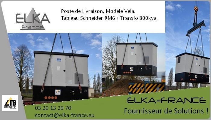 Elka-France Poste de livraison PdL10